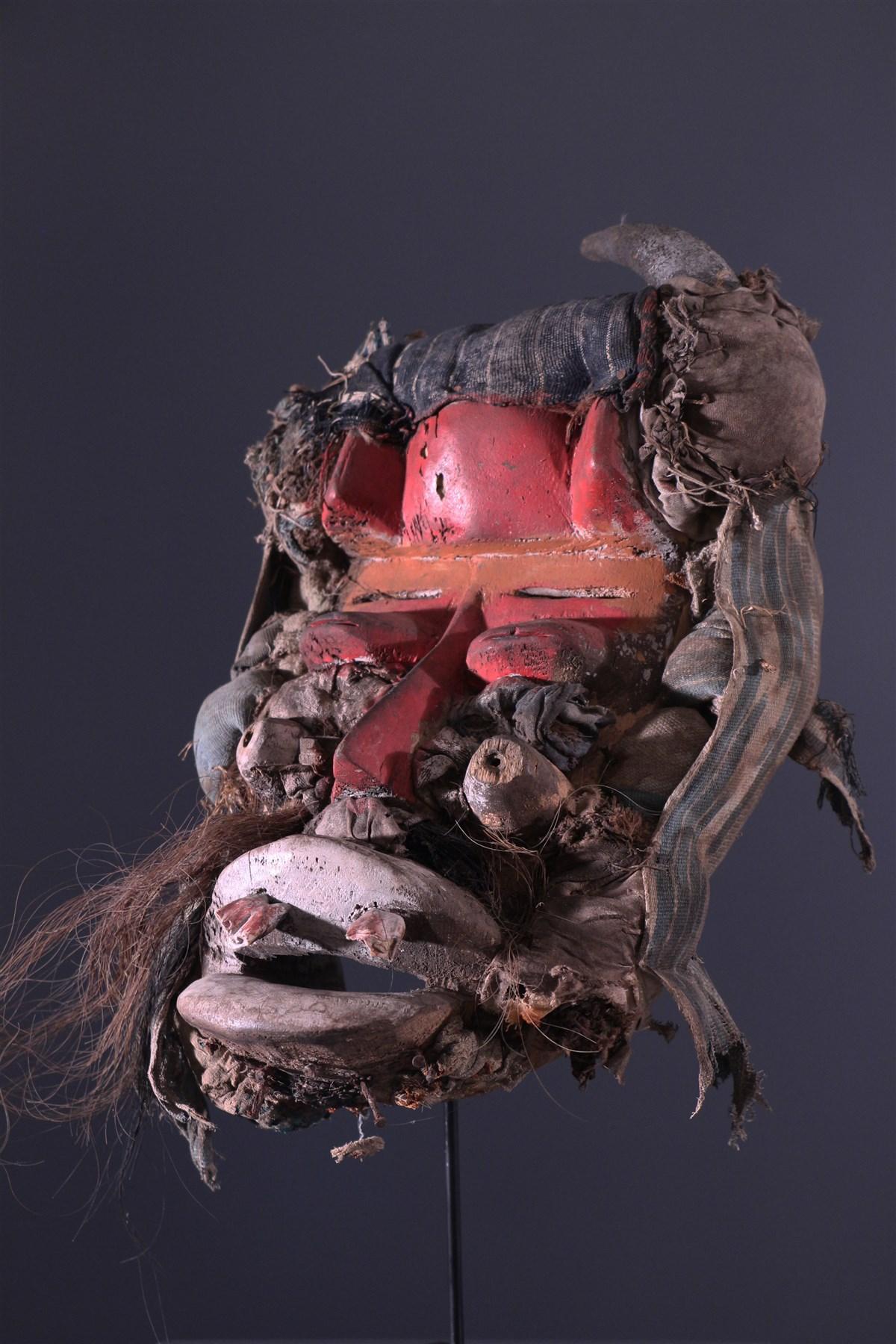 Masque Wobé-Guéré  - art africain