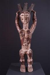 Art africain - Statues - Statue reine Attié