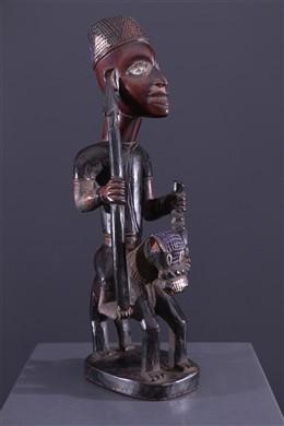 Art africain - Cavalier Kongo Vili