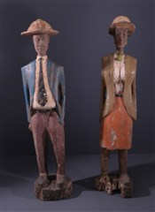 Statues africainesColons Baoule