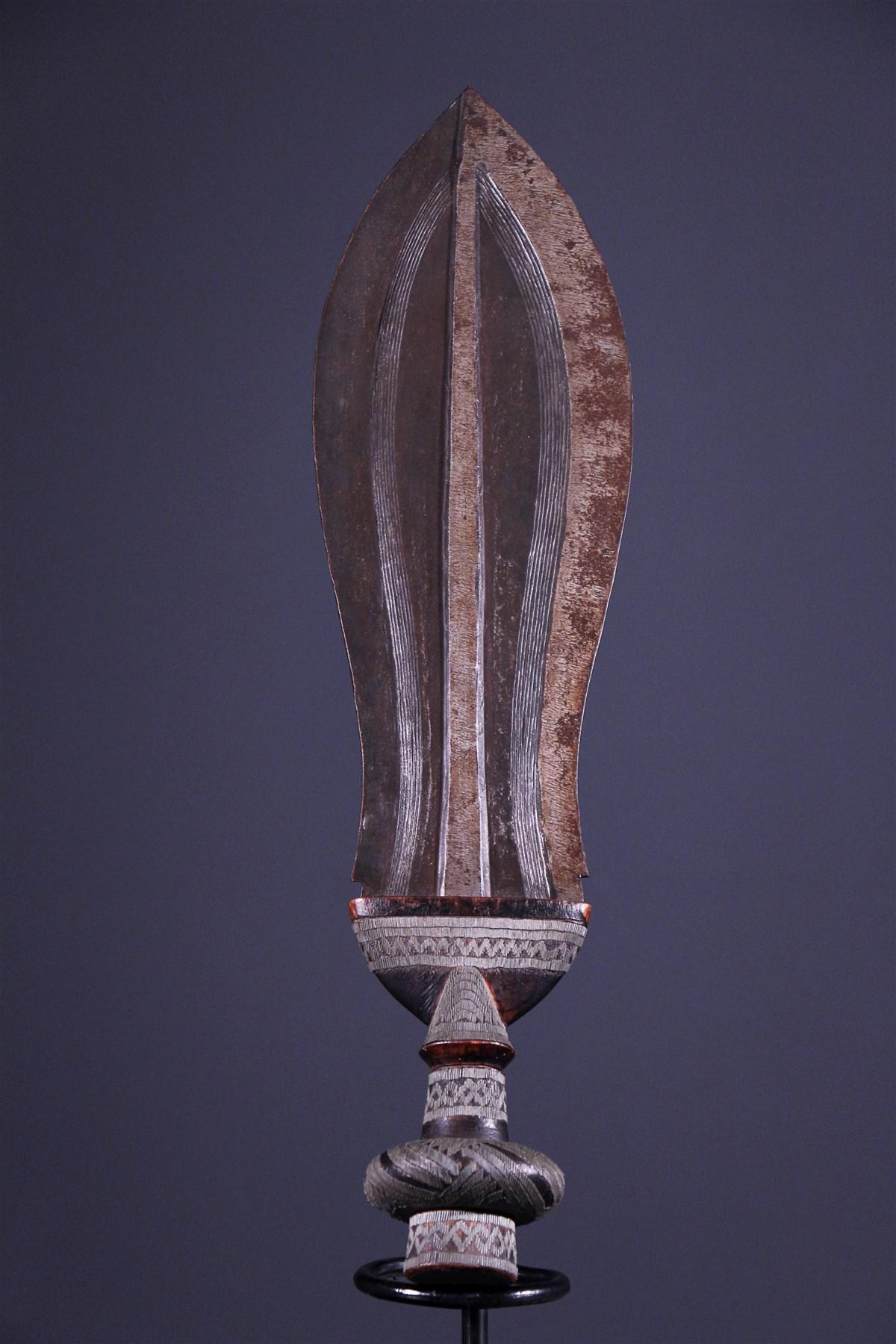 Glaive Kuba Ikul (7973) - Armes - Art Africain
