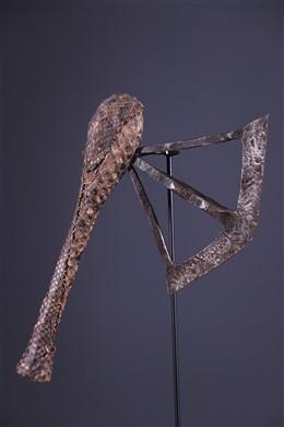 Art africain - Hache cérémoniale Nsapo Songye
