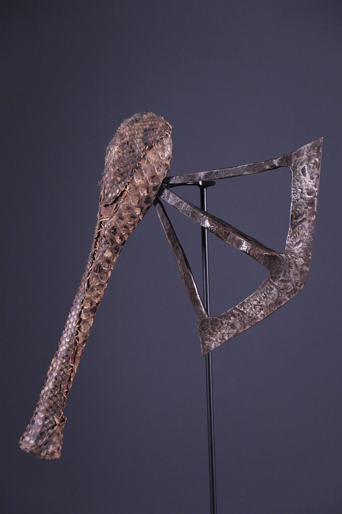 Hache cérémoniale Nsapo Songye - Art africain