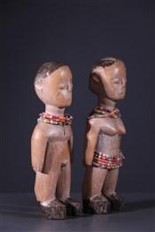 Statues africainesCouple de jumeaux Ewe Venavi
