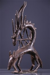bronze africainMasque Ci Wara