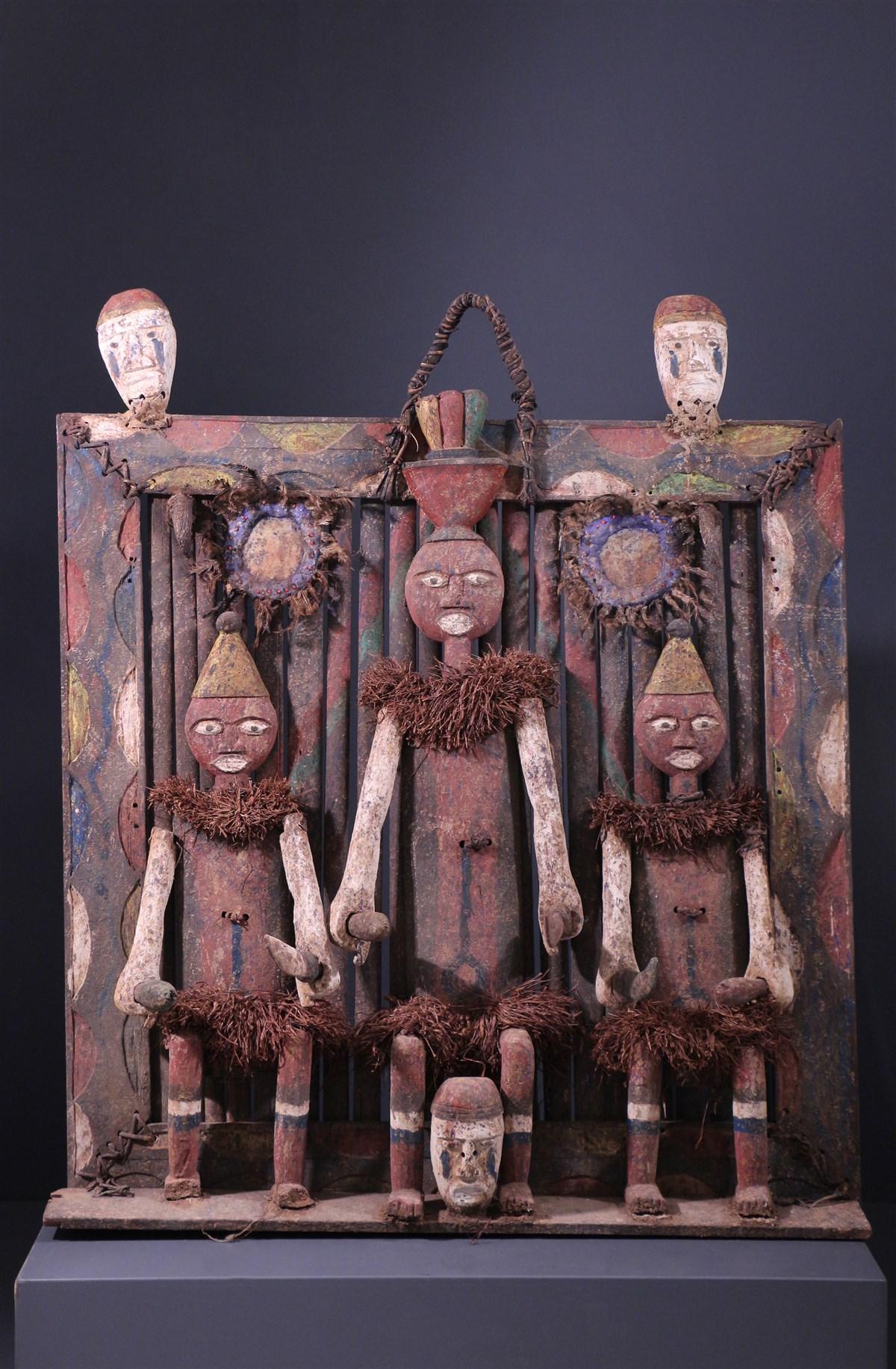 Tableau fétiche Ijo - art africain