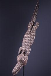 Art africain - Masques - Masque crocodile Gurunsi