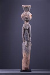 Art africain - Statues - Statue poteau Mumuye