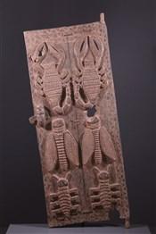 Grande porte Baoulé