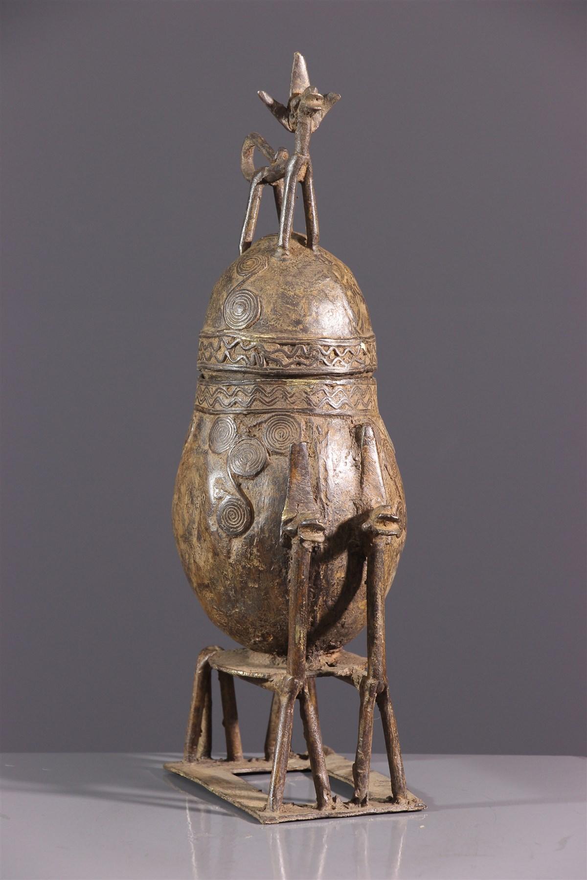 Urne cérémonielle Dogon - art primitif