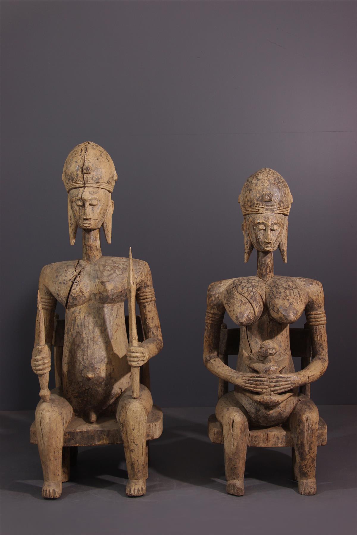 statuesl Bambara - art africain