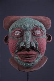Art africain - Masques - Masque Bamoun perlé
