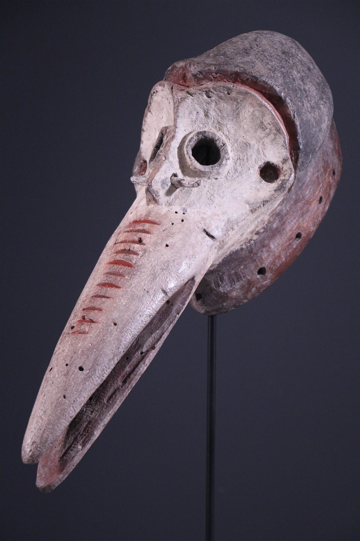 masque africain zoomorphe