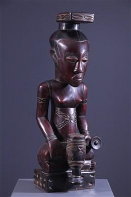 Statue royale Kuba