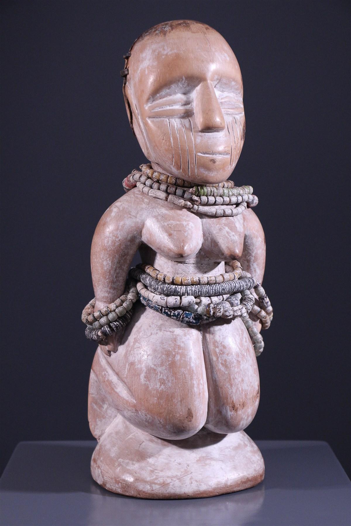 Statuette d'ancêtre Bariba - art primitif