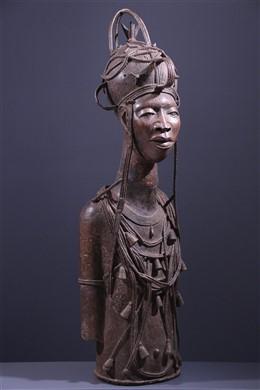 Buste Oba Benin Bini Edo