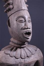 Statues africainesGrande statue Bangwa Lefem