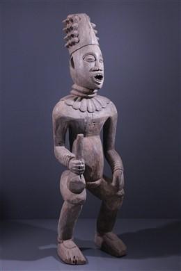 Grande statue Bangwa Lefem