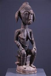 Art africain - Statues - Figure féminine Agni