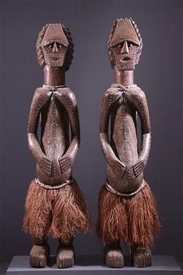 Couple de statues reliquaires Ambete