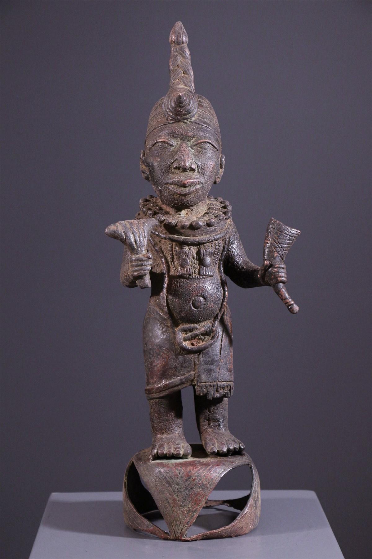 Statue royale Oni Ife - Art africain