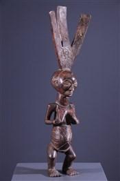Art africain - Statues - Statue porte-flèches Luba