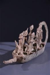 Art africain - Pirogue - Pirogue Dogon