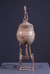 Pots, à divination, oracles, remèdes, onguentsPot à onguents Dogon