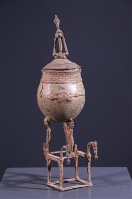 Art africain - Pot à onguents Dogon