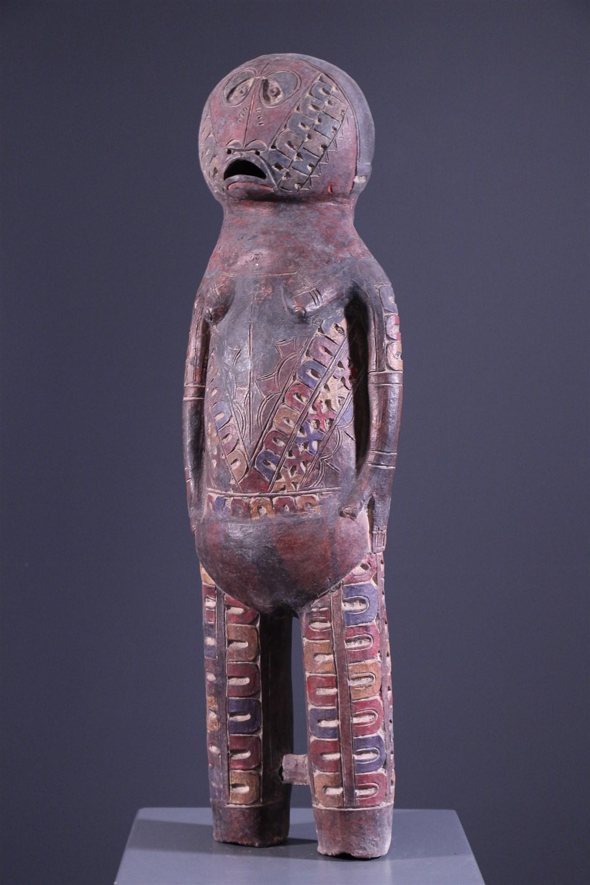 Grande Statue Kouyou - Art africain