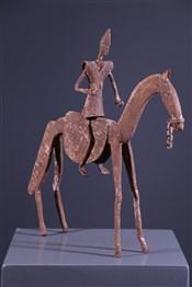 Statues africainesCavalier Lobi