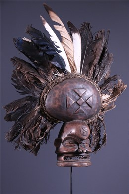 Masque Chokwé Cihongo - Art africain