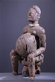 MaternitéStatue Bangwa