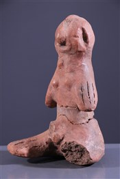 Art africain - Terres cuites - Statuette Komaland Krokonbali