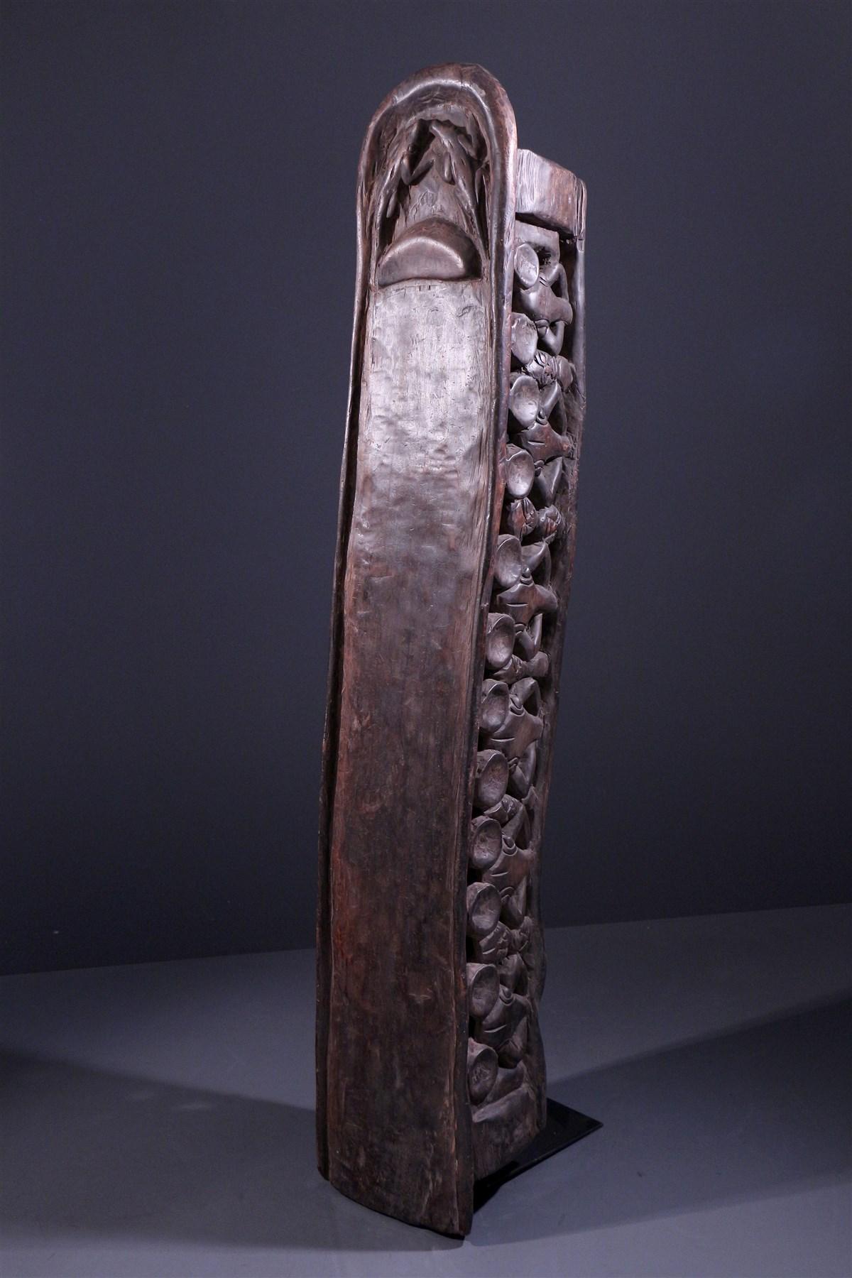 Lit Bamileke - art primitif