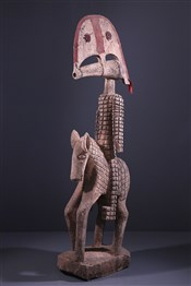 Statues africainesGrand Cavalier Tominian Bwa