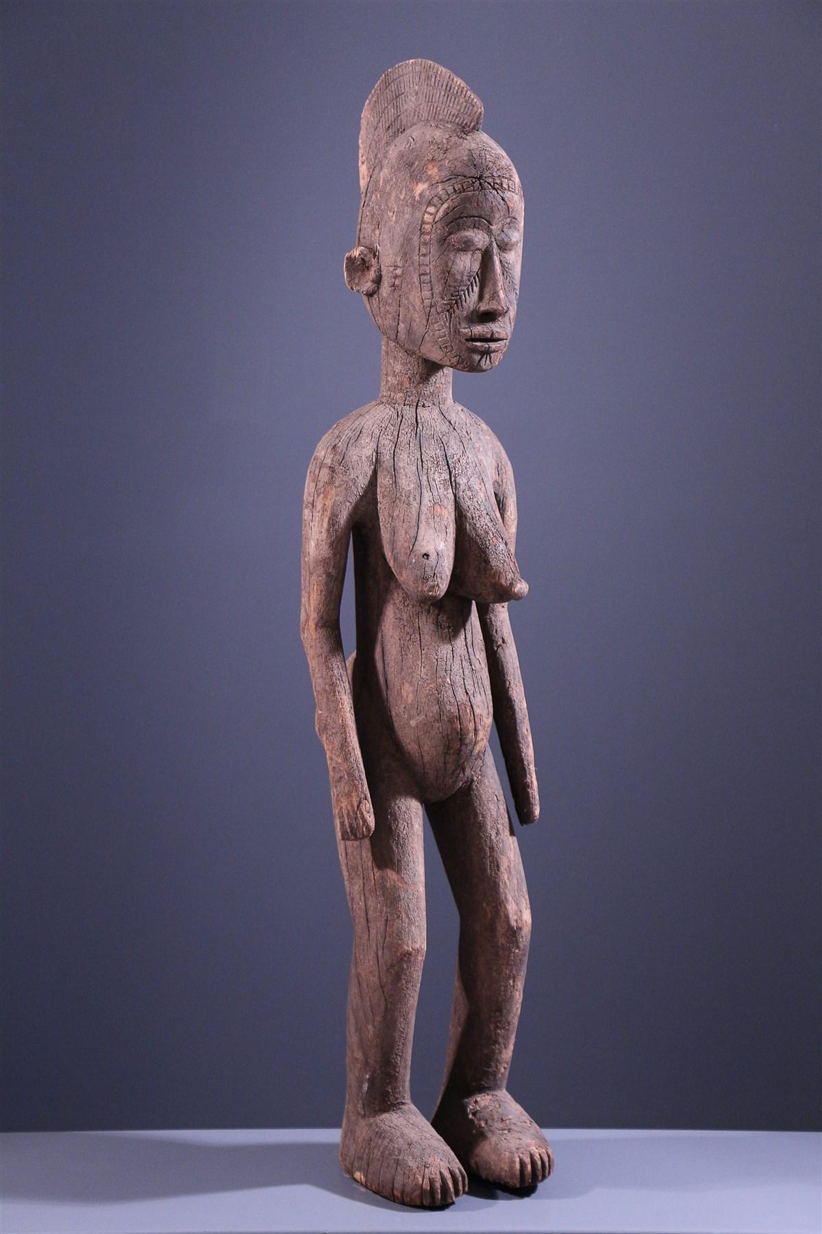 Statue Mossi Nakomse - art primitif