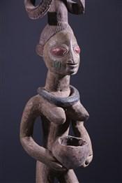 Statues africainesPorteuse de coupe Yoruba