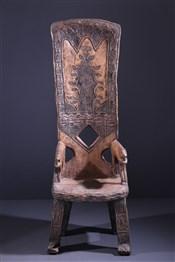 Chaises, siègesChaise de dignitaire Baoulé