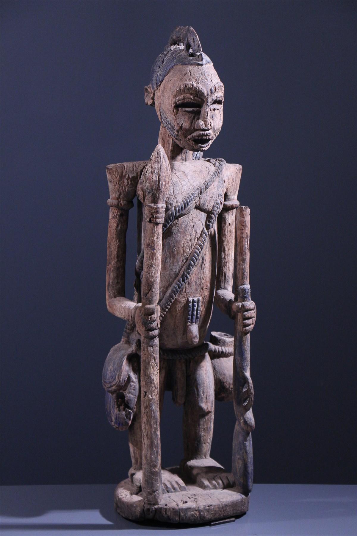 Statue Boki Cross River Nigeria - art africain
