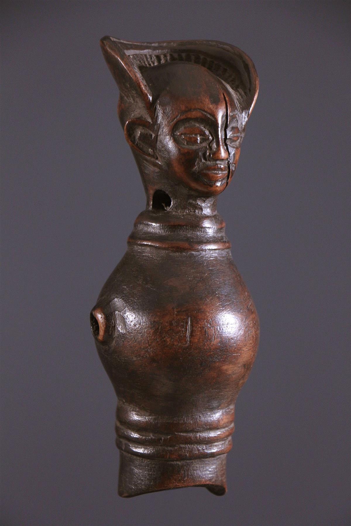 Sifflet Chokwé - Art africain