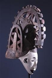 Masque casque Igbo Agbogho Mmu