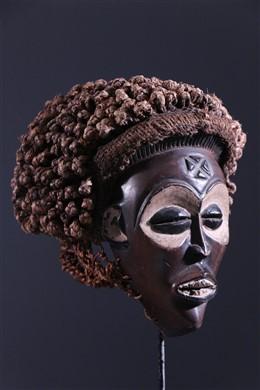 Art africain - Masque Chokwe Mwana Pwo