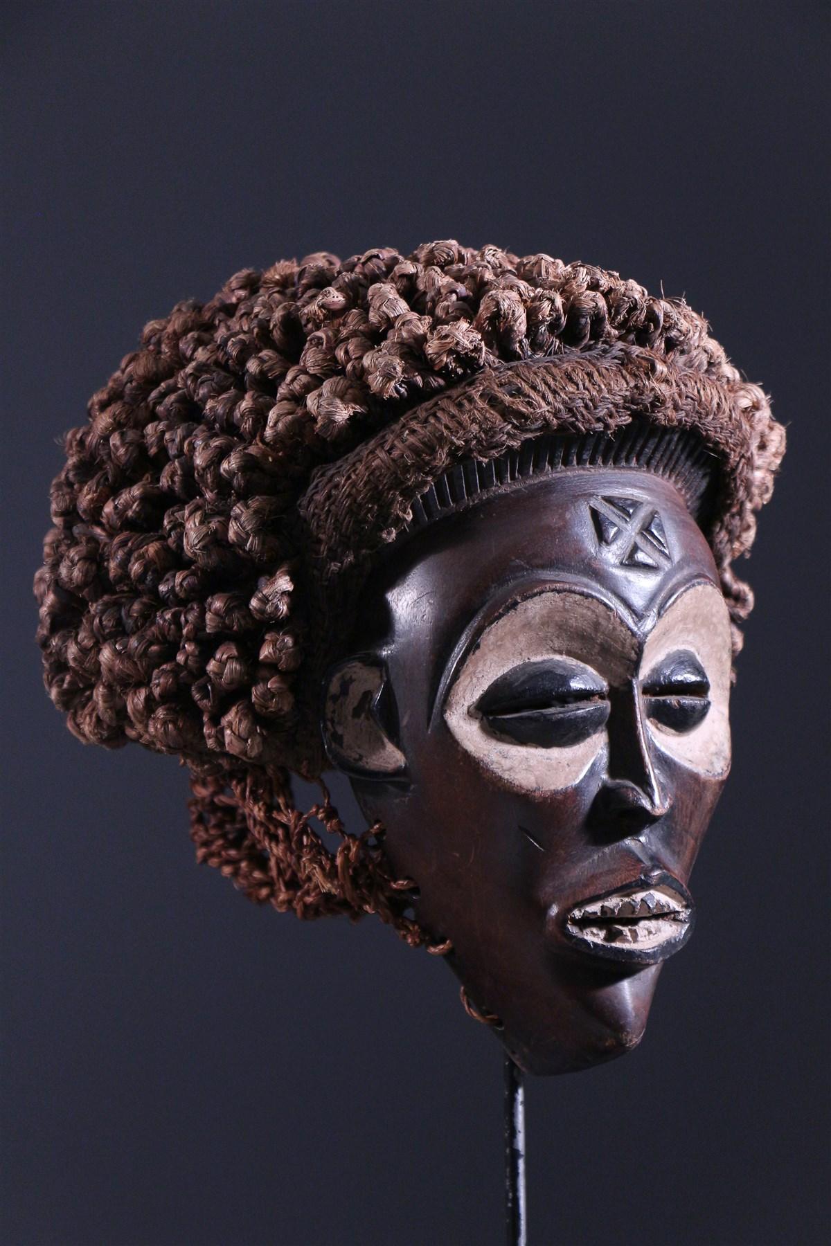Masque Chokwe Mwana Pwo - Art africain