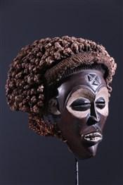 Masque africainMasque Chokwe Mwana Pwo