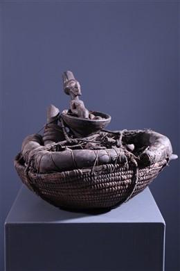 Panier reliquaire Songye