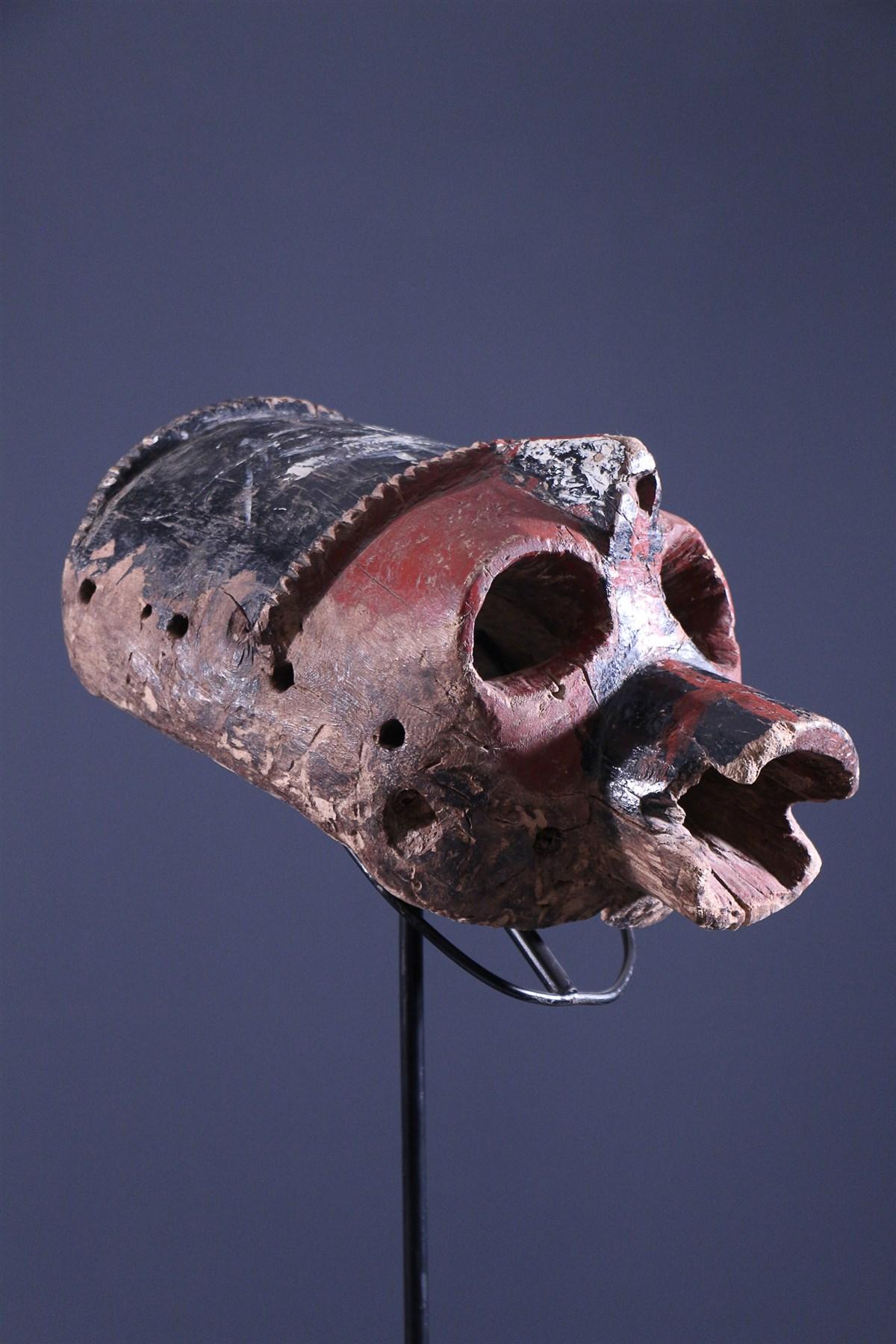 Masque féminin Mumuye - art primitif