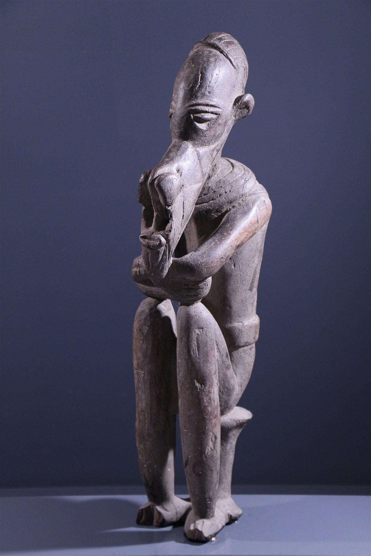 Statue Jukun - art primitif